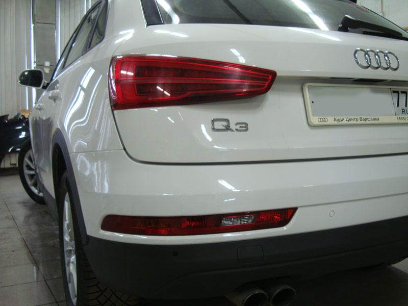 Ремонт кузова автомобиля Ауди Ку3 (Audi Q3) фото 2