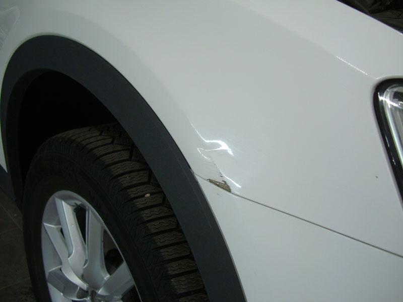 Ремонт кузова автомобиля Ауди Ку3 (Audi Q3)