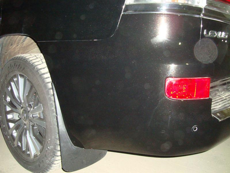 лексус после ремонта бампера