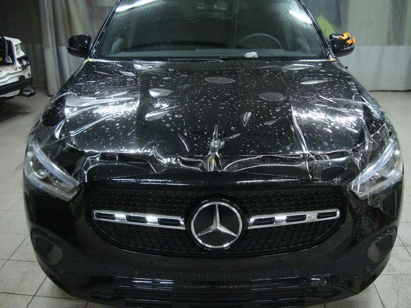 Бронирование кузова автомобиля Мерседес (Mercedes-Benz GLA)