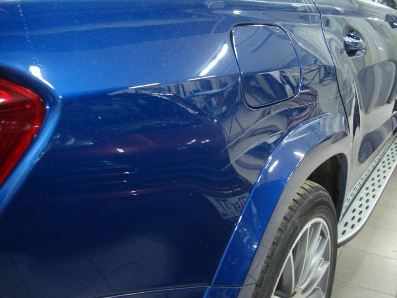Сколько стоит выпрямить вмятину на машине