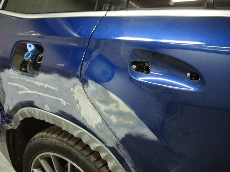 Ремонт крыла и двери Мерседес (Mercedes-Benz) GLS