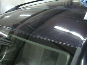 Кузовной ремонт крыши Фольксваген