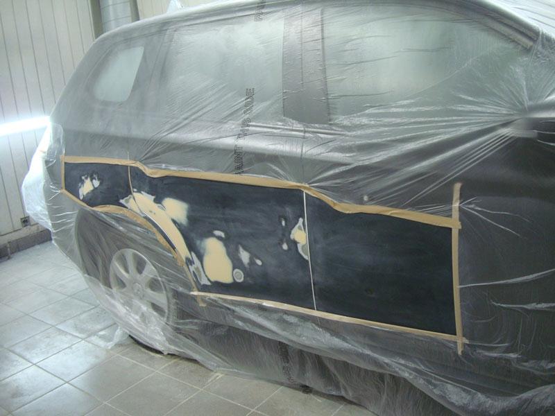 подготовка деталей к покраске