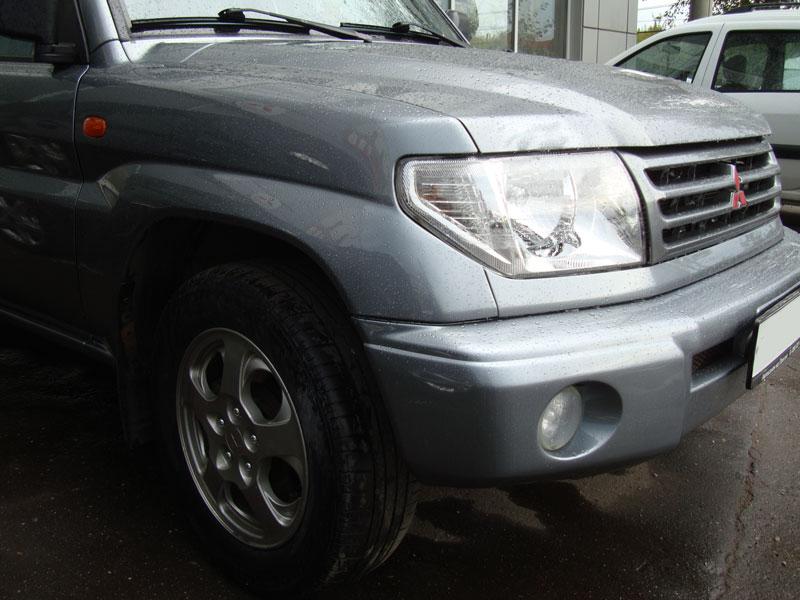 автомобиль мицубиси после ремонта