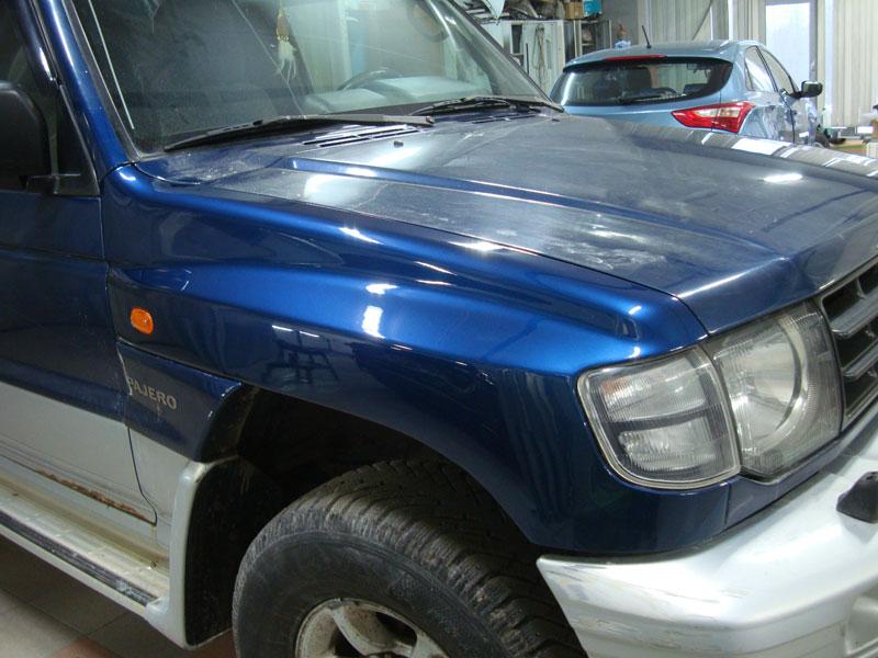 Ремонт крыла Мицубиси Паджеро (Mitsubishi Pajero)