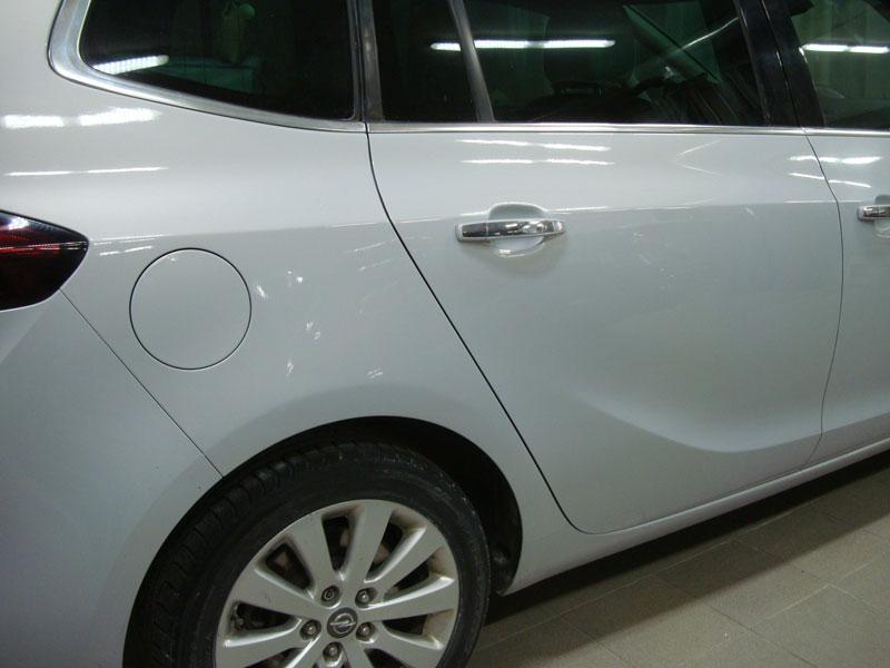 Ремонт заднего крыла Опель Зафира (Opel Zafira) фото 1