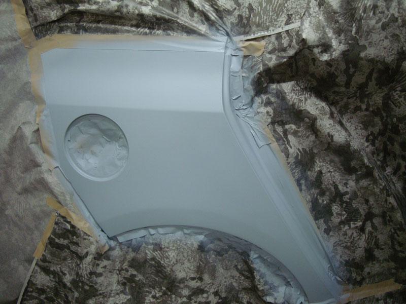 Ремонт заднего крыла Опель Зафира (Opel Zafira)
