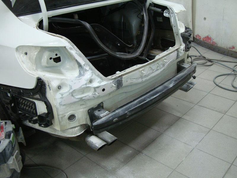 Ремонт бампера и задней панели Фольксваген Пассат (Volkswagen Passat) CC