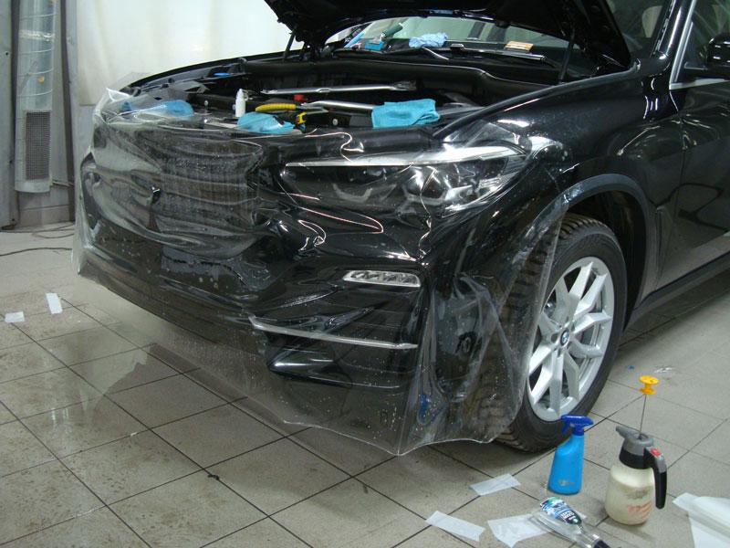 Бронирование кузова БМВ (BMW) X5 защитной пленкой фото 1