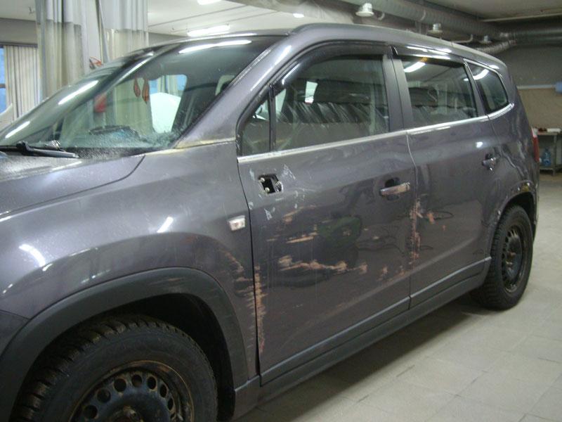 Кузовной ремонт Шевроле Орландо (Chevrolet Orlando) фото 2