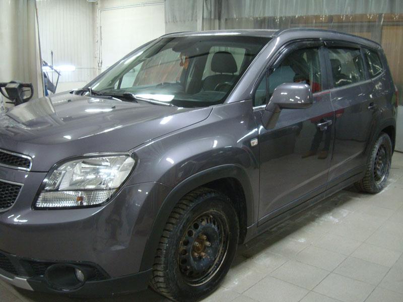 Кузовной ремонт Шевроле Орландо (Chevrolet Orlando) фото 1