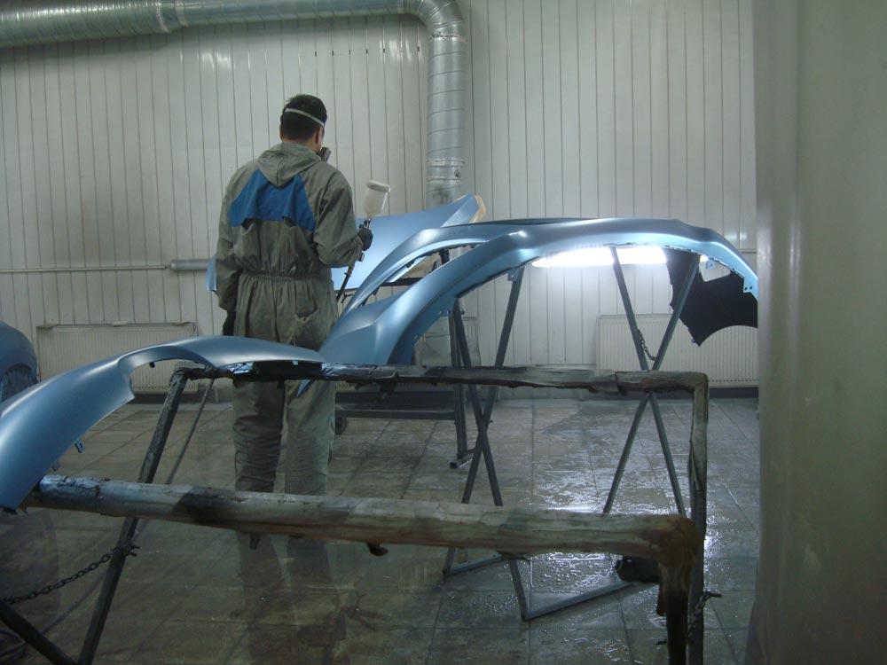 Кузовной ремонт Мерседес Бенц (Mercedes-Benz) после ДПТ
