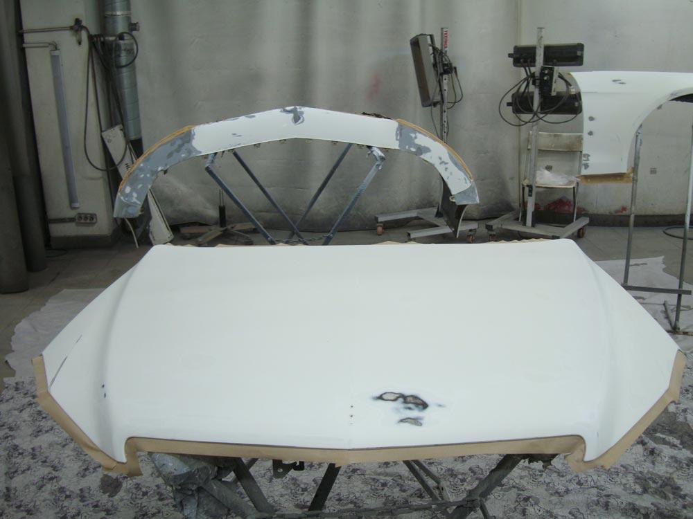 Кузовной ремонт Мерседес Бенц Е 200 (Mercedes-Benz Е 200)