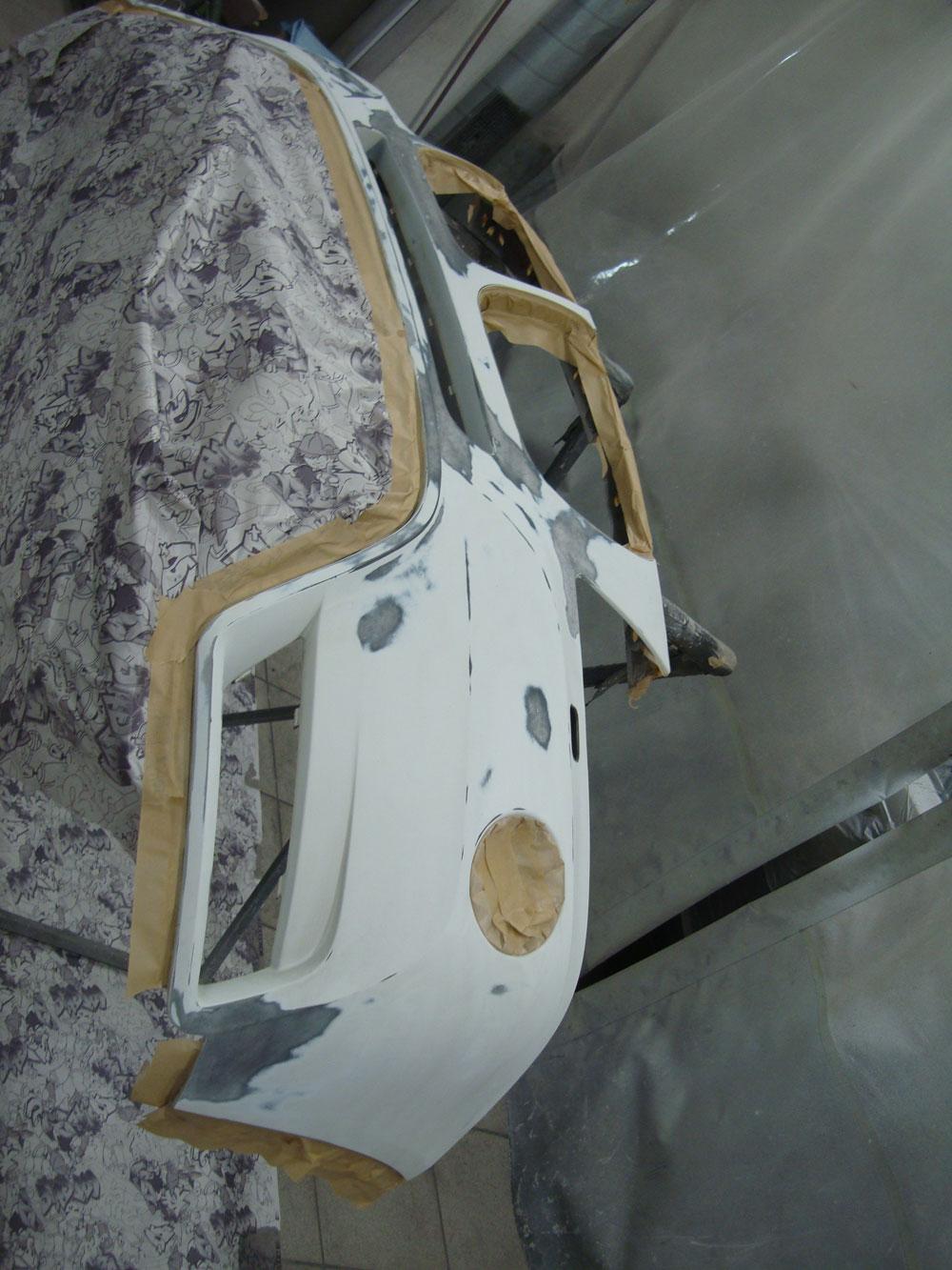 Кузовной ремонт БМВ (BMW) X3 после ДТП