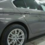 Ремонт и покраска задней правой двери и заднего правого крыла БМВ (BMW) 520