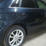 Ремонт и покраска задней двери и крыла Ауди (Audi) Q3