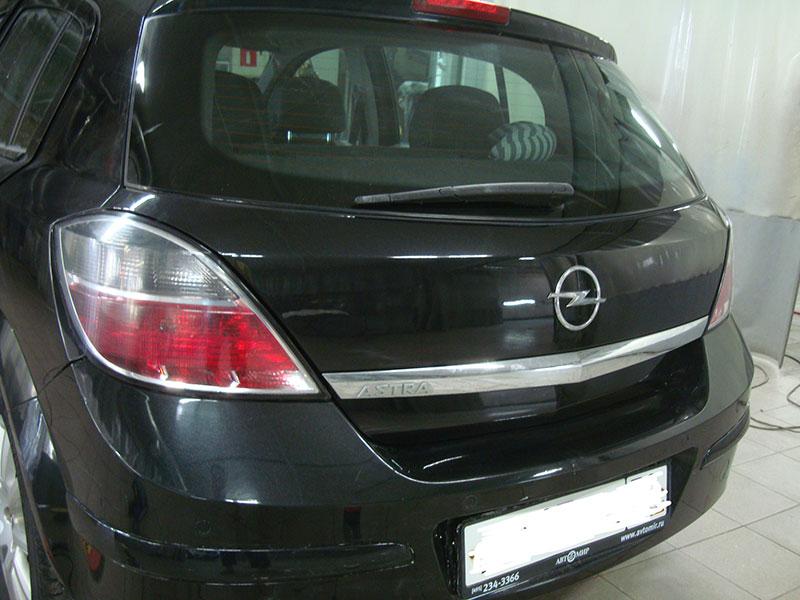 Ремонт крышки багажника Опель Астра (Opel Astra)