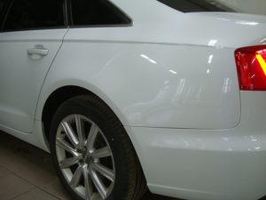 Ремонт и покраска заднего крыла Ауди (Audi) А4