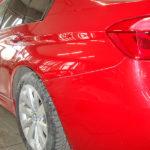 Ремонт заднего крыла и бампера БМВ (BMW) 325