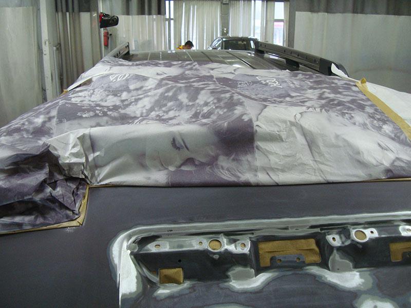 Удаление ржавчины на автомобиле Ниссан Патфайндер (Nissan Pathfinder)