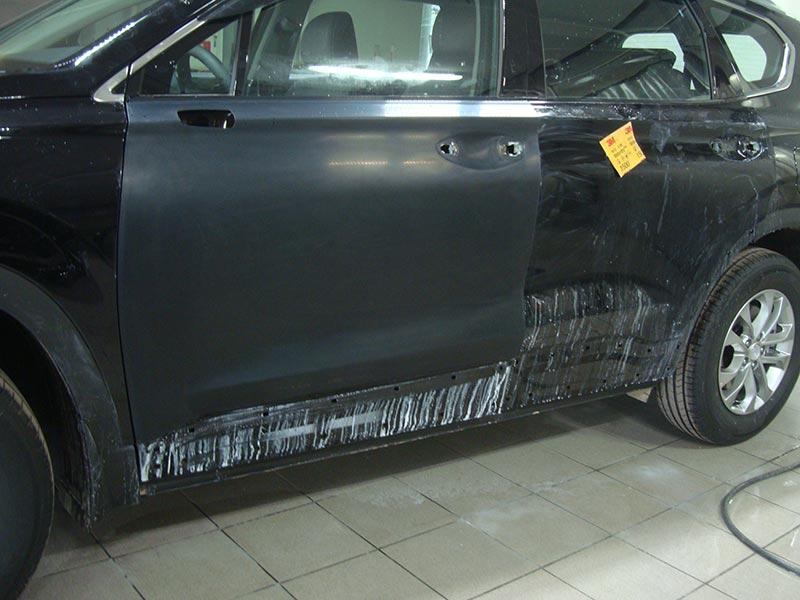 Аэрография на кузове Хендай Санта Фе (Hyundai Santa Fe) фото 1