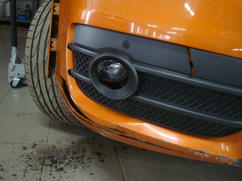 Ремонт и покраска бампера Ауди (Audi) Q3
